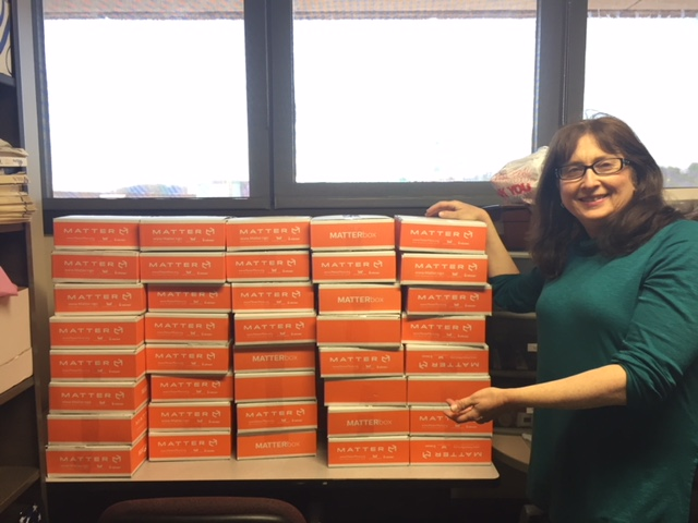 Thank you Chartwells for the 75 Boxes of Food!