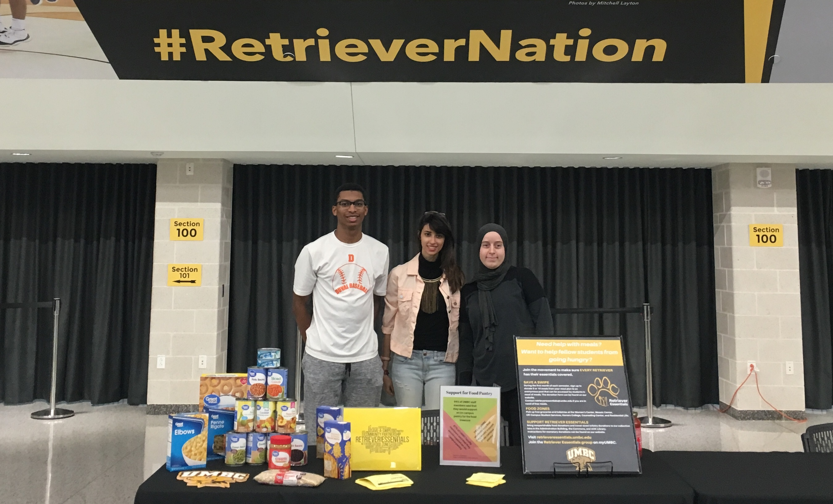 Women's Volleyball Food Drive