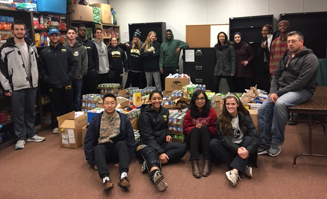 Thank you SAAC for Collecting over 3,500 Food Items